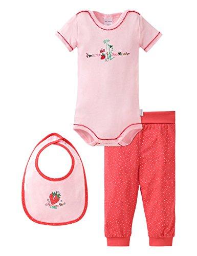 Schiesser Baby-Mädchen Unterwäsche-Set 151393, 3er Pack, Mehrfarbig (Sortiert 1 901), 68 (Herstellergröße: 068)