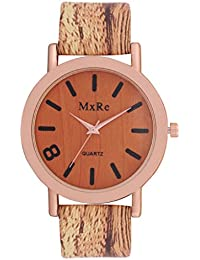 Jack Klein Elegant Wooden Finish Analog Watch