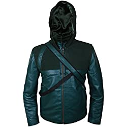 Arrow Jacket with Quiver & Removable Hood 5XL Green