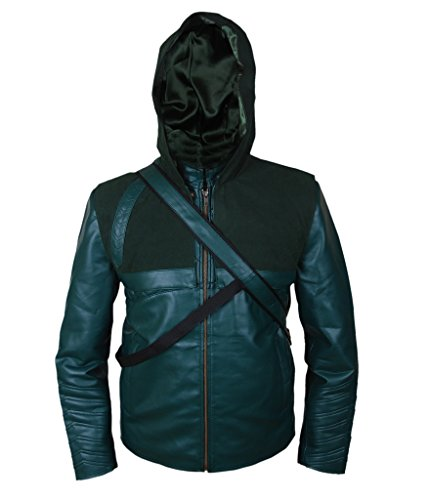 F&H Men's Arrow Jacket with Quiver & Removable Hood green