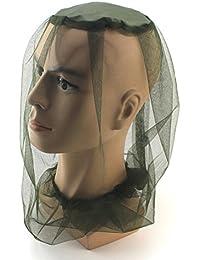 Jiayuane Filet de moustiquaire à tête de Moustique Chapeau de Moustique  Protecteur de Visage de Moustique b34ea1dcf45