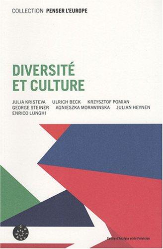 Diversité et culture par Julia Kristeva