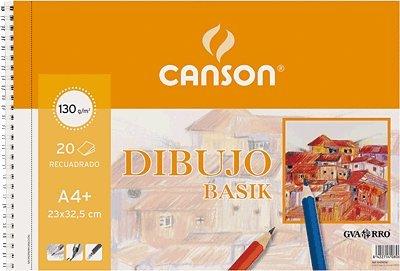 Guarro Canson 726461 - Bloc A4, 20 hojas, 130 gr