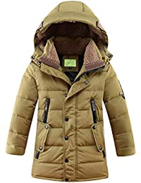 9825703d9ad6 Amazon.co.uk  Brown - Coats   Jackets   Boys  Clothing