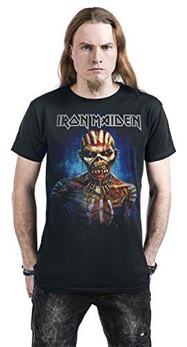 Iron Maiden Axe Ed Europe 2017 T-Shirt nero Nero