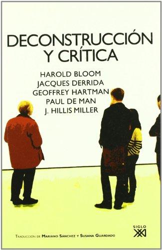 Deconstrucción y crítica (Lingüística y teoría literaria)