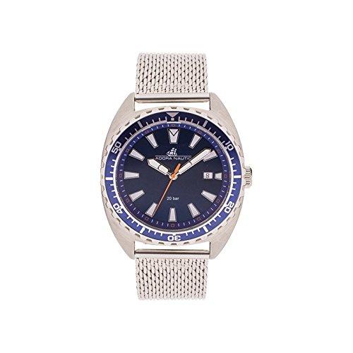 Adora Herren Analog Quarz Uhr mit Edelstahl Armband AN2066