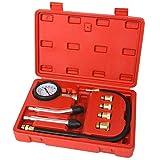 UCSLIFE Kompressionstester KFZ Kompressionsprüfer 0-20 bar oder 0-300 psi inkl. Koffer