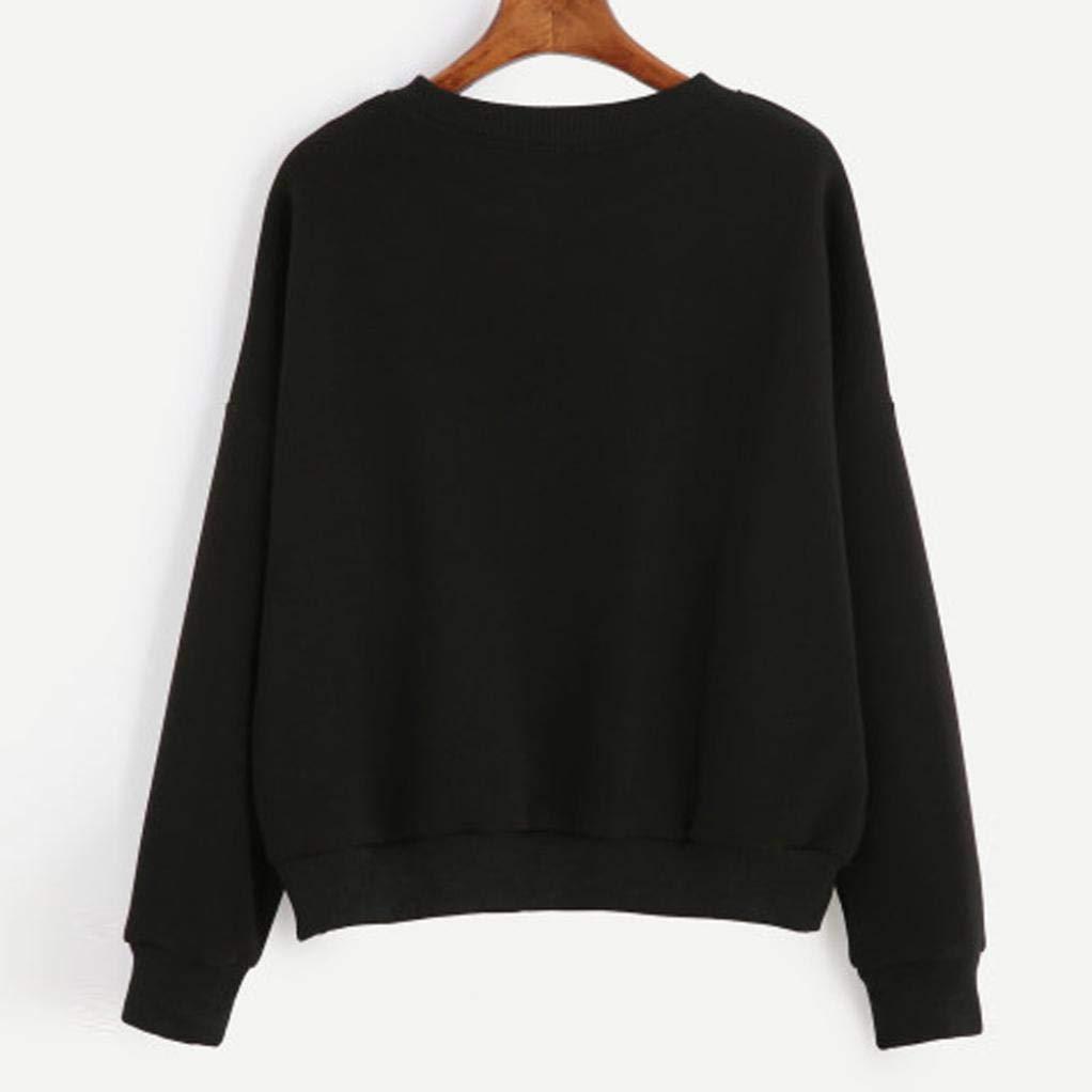 867514047 Sudadera para mujer moda Otoño manga larga,Sonnena Moda Sudadera suelta que  hace punto irregular de las mujeres Jersey blusa larga tops casual color ...