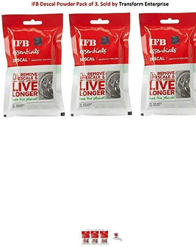 IFB Essentials Descale Powder, 3 Packets of 100 G