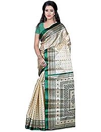 Women's Latest Designer Wear Cotton Silk Beautiful Bollywood Saree Collection For Women / Girls / Ladies By Designer...
