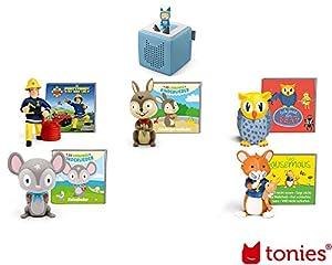 tonies BXHB-T5.2 - Juego de Figuras de Madera, Multicolor