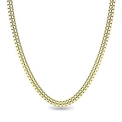 Candere By Kalyan Jewellers Contemporary Collection 22k Yellow Gold Marcia Chain Necklace for Men