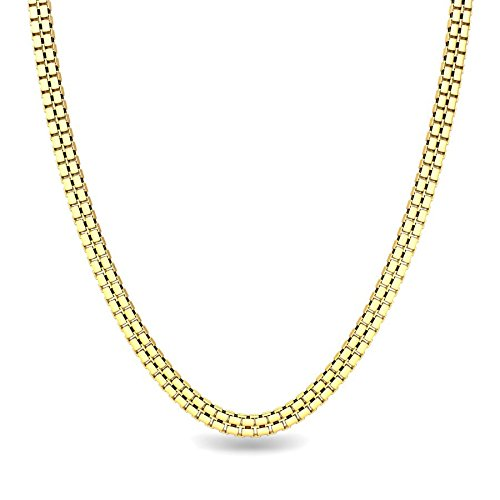 Candere By Kalyan Jewellers Contemporary Collection 22k Yellow Gold Marcia Chain Necklace