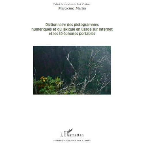 Dictionnaire des pictogrammes numériques et du lexique en usage sur Internet et les téléphones portables de Martin Marcienne (12 octobre 2010) Broché