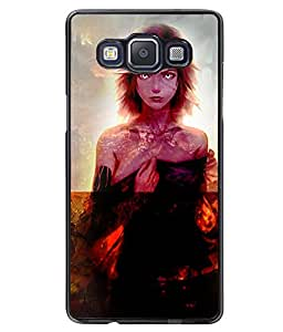 Printvisa 2D Printed Girly Designer back case cover for Samsung Galaxy A5 SM - A500F - D4622