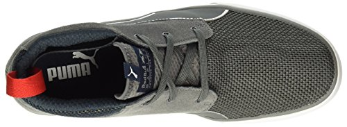 Puma Rbr Desert Boot Vulc, Baskets Basses Homme Gris - Grau (smoked Pearl-smoked Pearl 02)