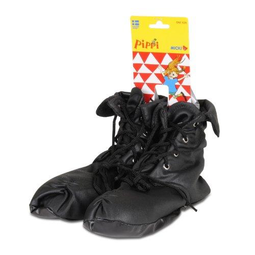 Erwachsene Pippi Für Langstrumpf Kostüm - Pippi Langstrumpf 44.3605.00 - Pippi Schuhe zum Verkleiden, für Kinder ab 3 Jahren und einer Fusslänge von ca. 14 bis 23 cm geeignet