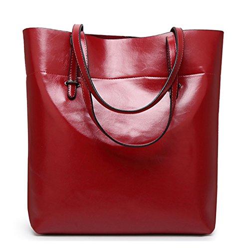 Keshi Niedlich Damen Handtaschen, Hobo-Bags, Schultertaschen, Beutel, Beuteltaschen, Trend-Bags, Velours, Veloursleder, Wildleder, Tasche Weinrot