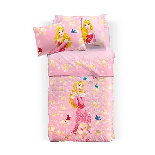 Princess Aurora, couvre-lit matelassé simple Caleffi