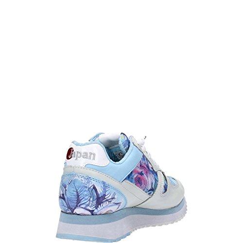 Lotto Leggenda , Baskets pour femme Multicolore White/Blue Multicolore - Blanc/bleu
