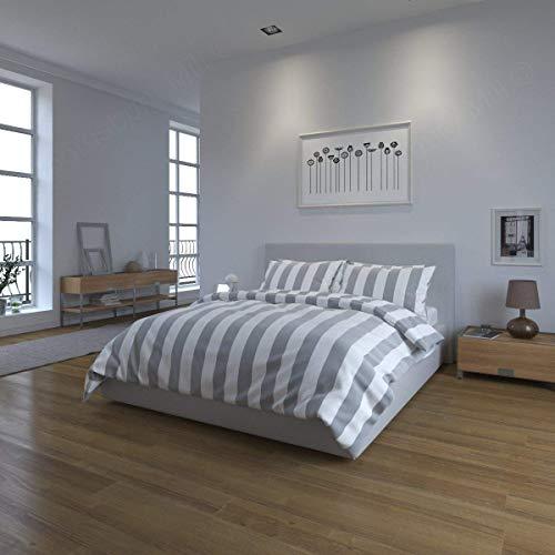 Bloomsbury Mill - Grey & White S...