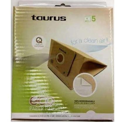 Taurus - Bolsa Aspirador 999175, Eco Papel, 3L