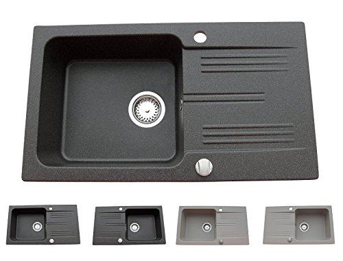 schwarz-granitspule-einbauspule-kuchenspule-spule-spulbecken-drehexcenter-10-jahre-garantie