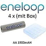 4x batteries Eneloop Mignon AA 2000mAh (min. 1900) NiMH avec batterie Box
