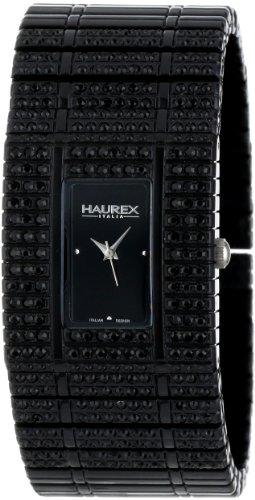 Haurex Italy NX368DNN - Reloj para mujeres, correa de plástico color negro