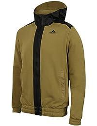 adidas hoodie mens. adidas mens stronger climalite cotton full zip hoodie
