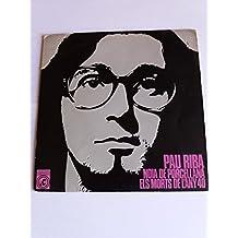 SINGLE. *** PAU RIBA / NOIA DE PORCELLANAS *** CONCENTRIC *** COVER / NEAR MINT (NM) EP / MINT (M) 1968 !!!