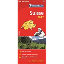 Carte Suisse Michelin 2017
