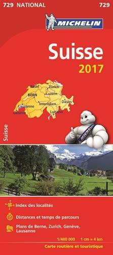 Carte Suisse Michelin 2017 par Collectif Michelin