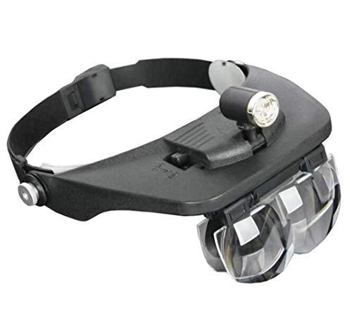 Fangfang GAO magnifier Brillen Lupe HD-Objektiv zum Lesen von Büchern, zur Identifizierung von Schmuck, Uhren, DIY-Kunsthandwerk schnitzen und reparieren