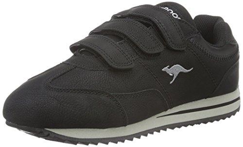 Kangaroos Teno II V, Zapatillas para Mujer, Negro (Black 500 500), 38 EU