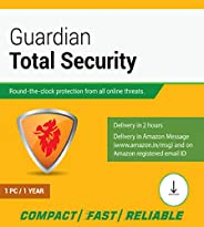 Guardian Total Security 1 User 1 Year (Email Delivery in 2 hours- No CD) (Activation Key Card)