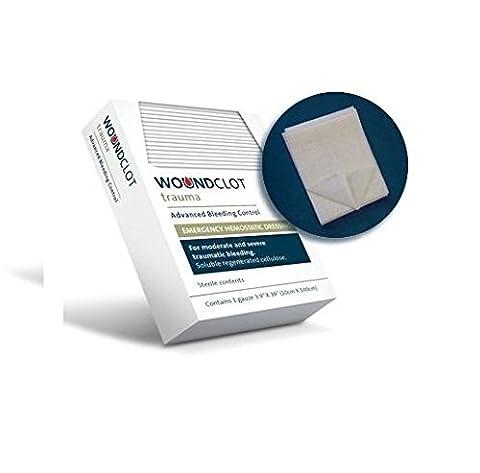 WoundClot Trauma Gauze (Hemostatic Dressing) - Advanced Bleeding Control 3.1