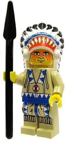 LEGO Western - Minifigur Häuptling
