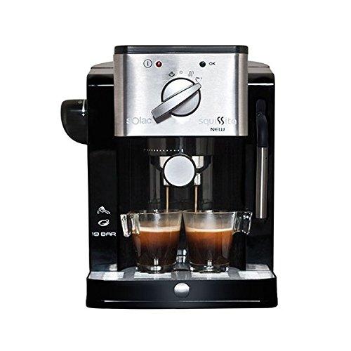 Solac S92000000 - Cafetera Express (19 bar, depósito de 1,22L)
