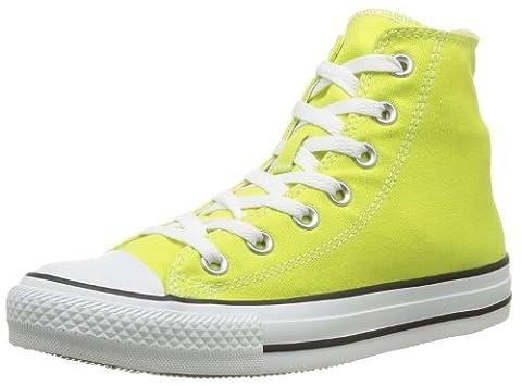 Converse Chuck Taylor All Star Season Hi, Baskets mode mixte adulte - Jaune (Citronelle), 38 EU