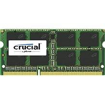 Crucial - Memoria RAM de 4 GB (DDR3L, 1600 MT/s, PC3L-12800, SODIMM 204-Pin)