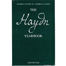 The Haydn Yearbook Volume XVII 1992: v. 17