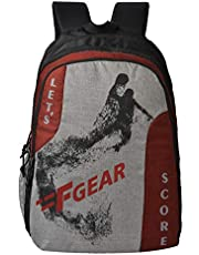 F Gear Lets Score 32 Ltrs Grey Casual Backpack (2740)
