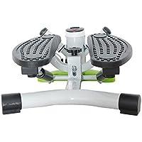 WYF Fitness Mini Stepper Machine Equipo De Escalera Casera Mute Step Machine Máquina De Escalonamiento Portátil Con Bandas De Resistencia