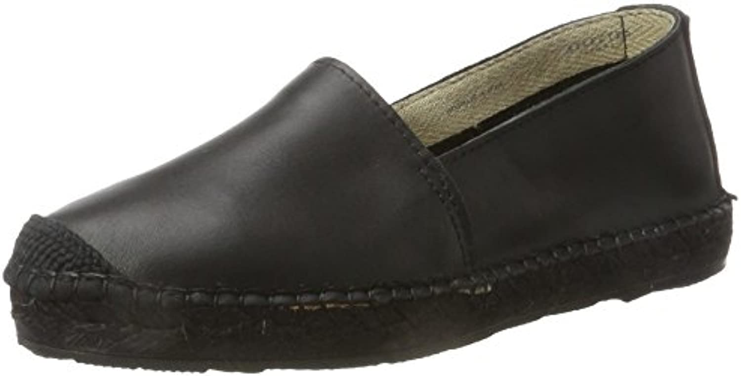 Selected Femme Sfmarley New Leather Solid Espadrilles, Alpargatas para Mujer