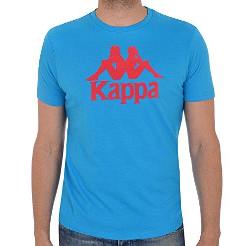 Kappa -  T-shirt - Maniche corte  - Uomo Blue Small