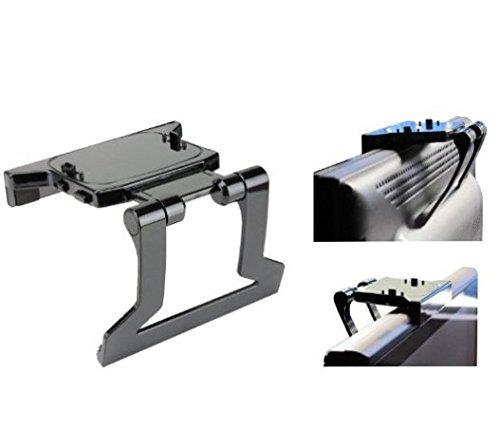 TV abrazadera clip del montaje del sostenedor del soporte para Xbox 360 Kinect Sensor