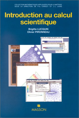 Introduction au calcul scientifique