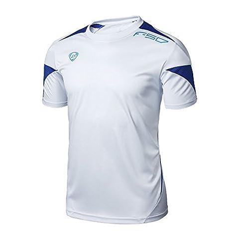 BOBORA Homme De Sport Outdoor Quick Dry Men Short Sleeved T-Shirt